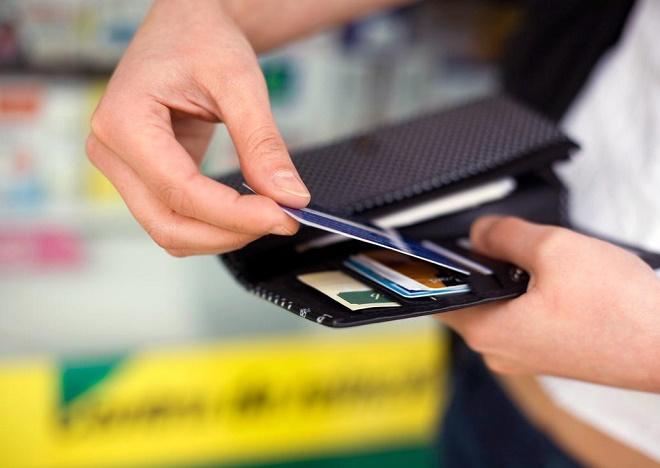Сумма кредитного лимита по банковской карте